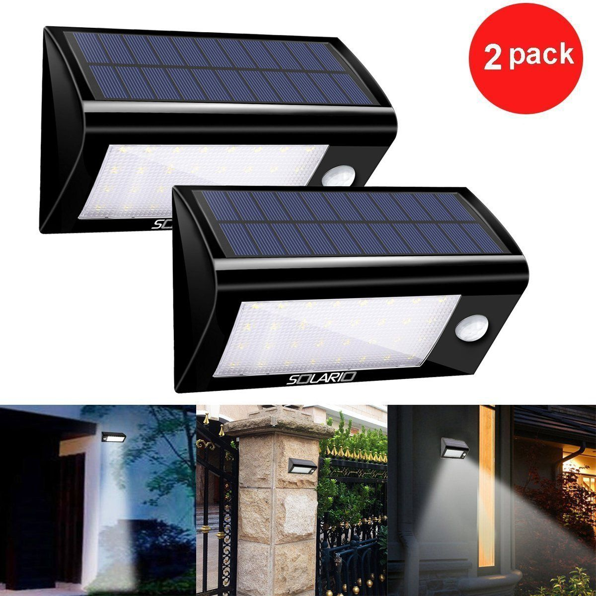 Top 7 Best Solar Outdoor Lights Reviews In 2018