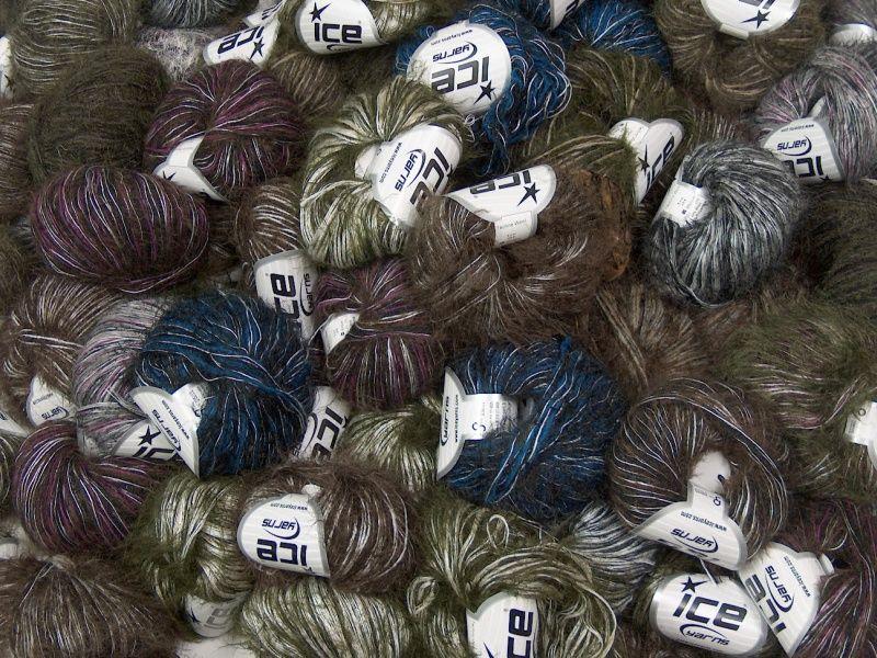 L@@K Mix Selection Custom Blend Yarns