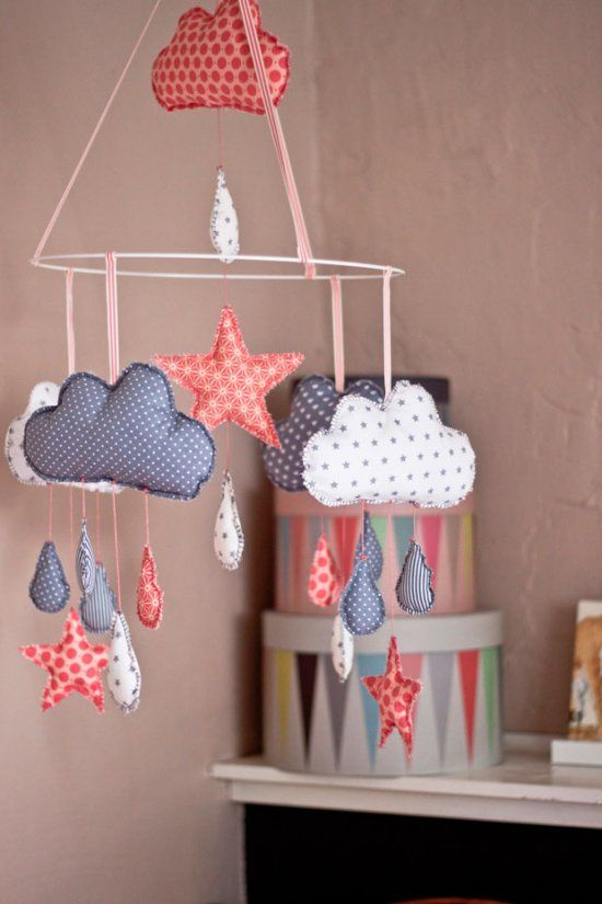 diy ideen ein s es mobile selber machen so geht 39 s diy n hen baby mobiles und baby basteln. Black Bedroom Furniture Sets. Home Design Ideas