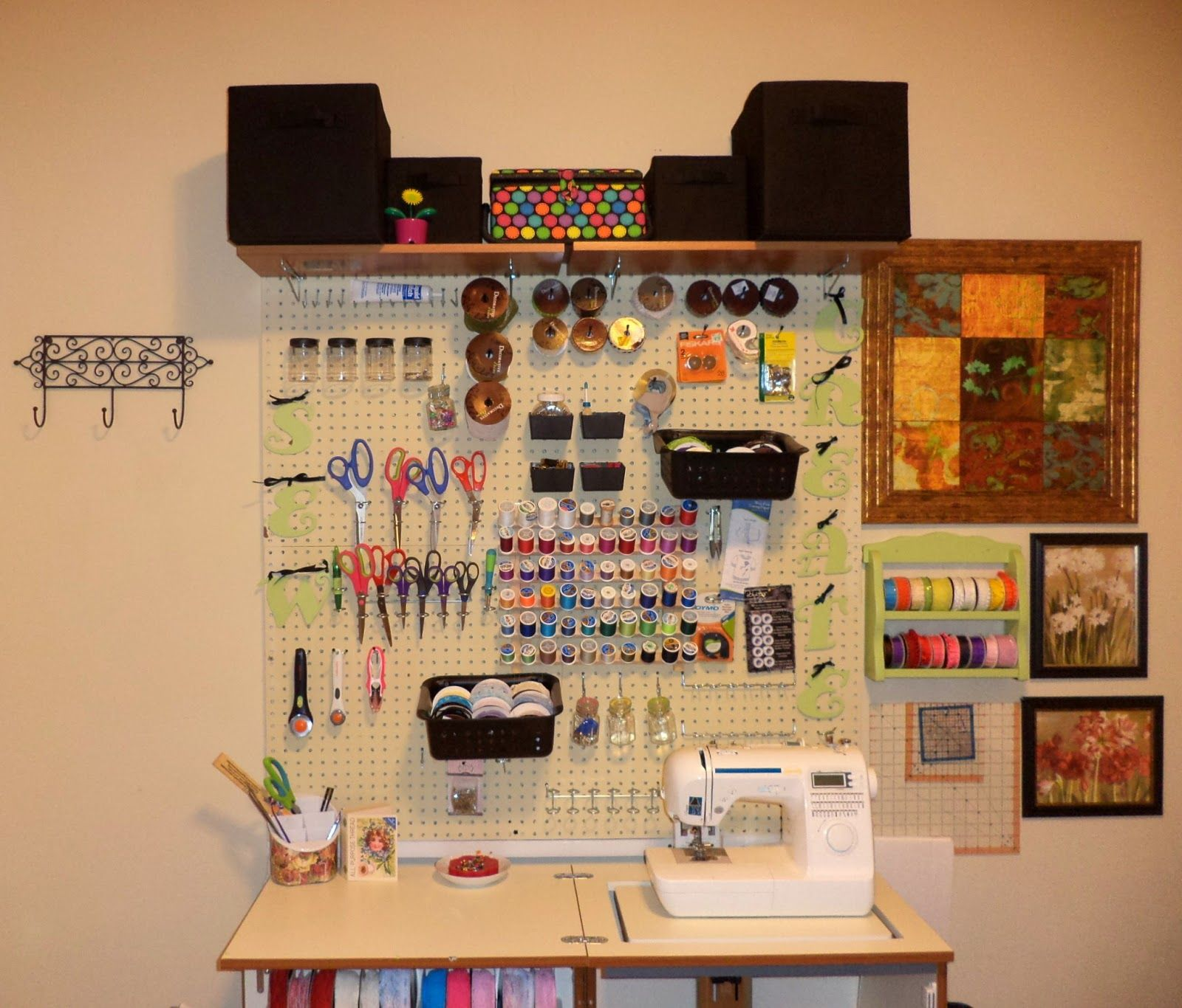 Image Result For Pegboard Uses Sewing