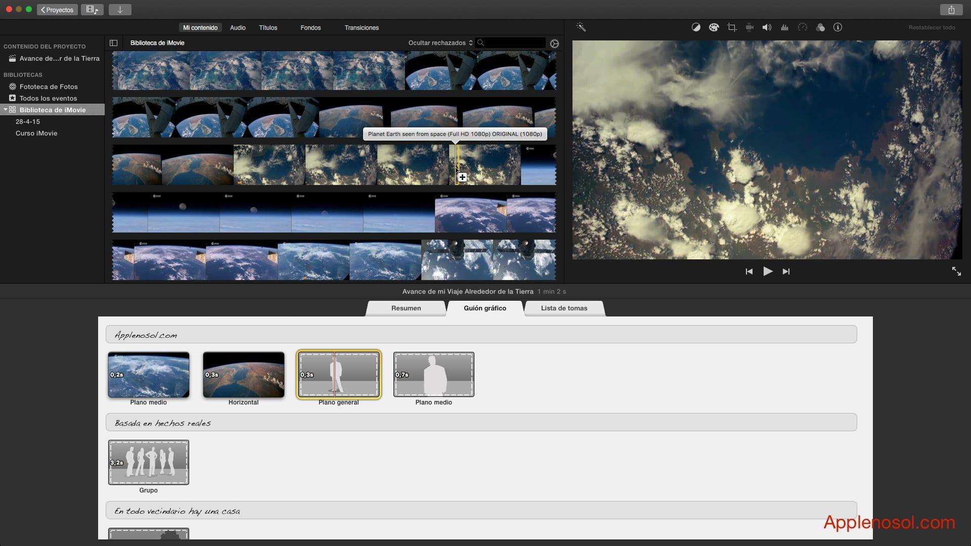 Curso de iMovie #9. Trailers