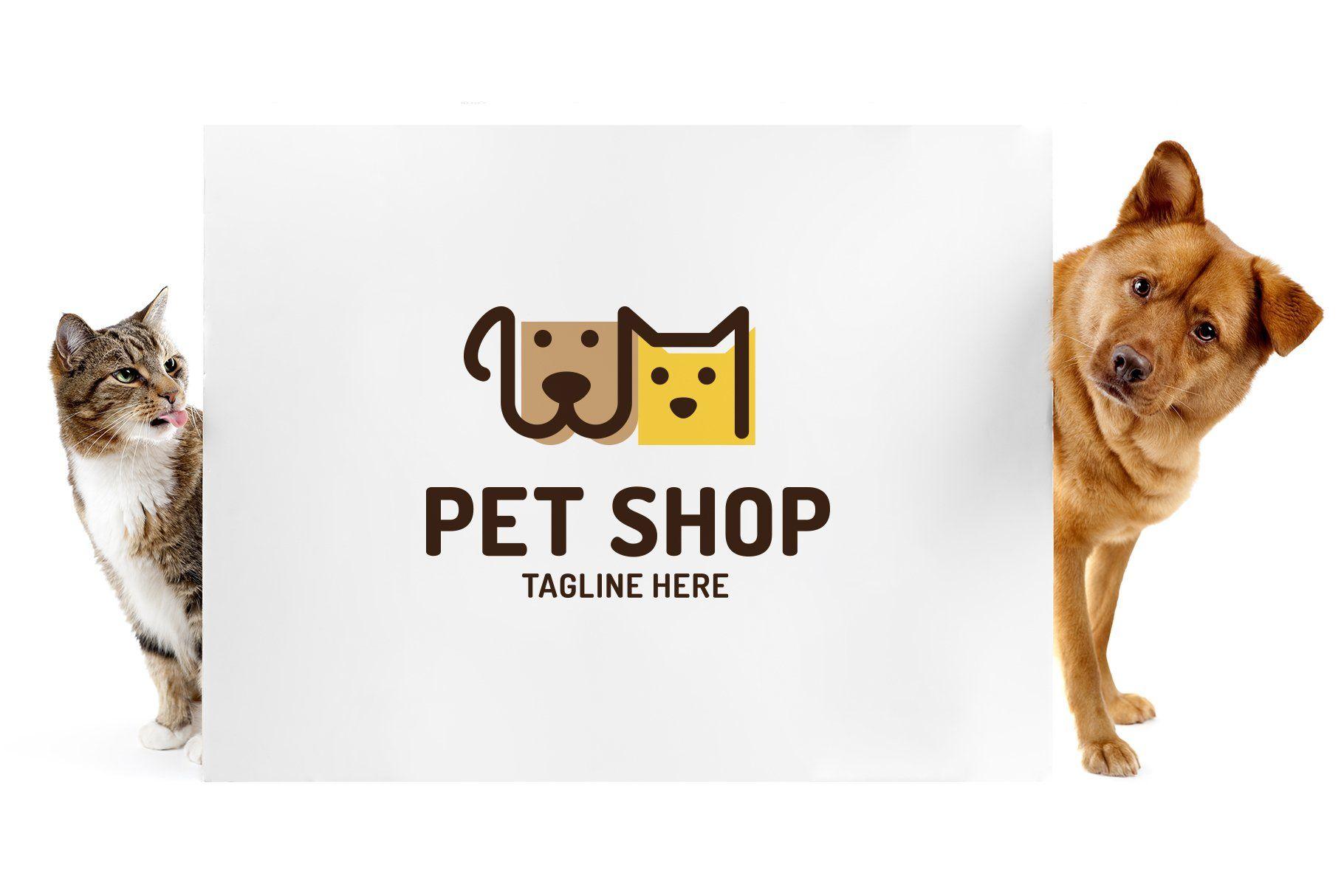 Pet Shop Logo In 2020 Pet Shop Logo Shop Logo Pet Shop