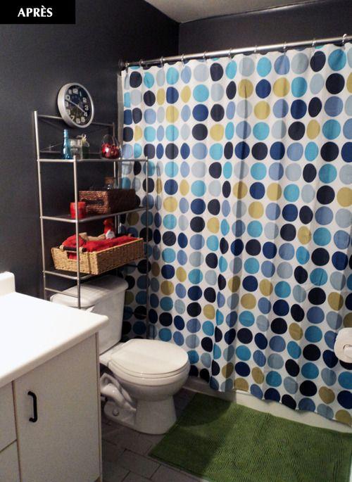 Ma salle de bain après le Défi Écono Walmart #DefiWalmart Idée