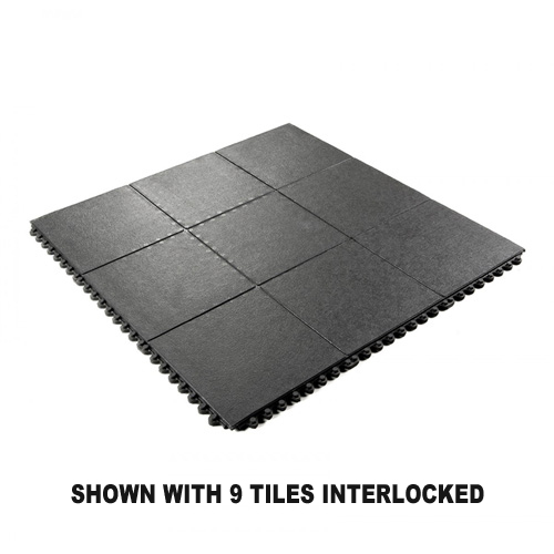 Wearwell 24 Seven Gr Solid 3x3 Ft Mat With Images Anti Fatigue Flooring Large Rubber Mats Rubber Mat