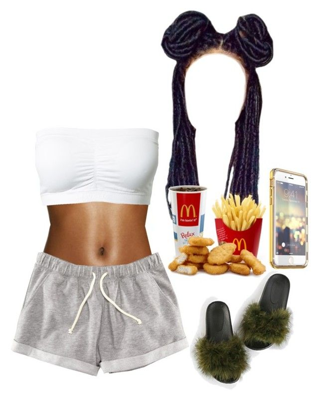 """Comfy"" by quennn on Polyvore featuring Andrea and H&M"
