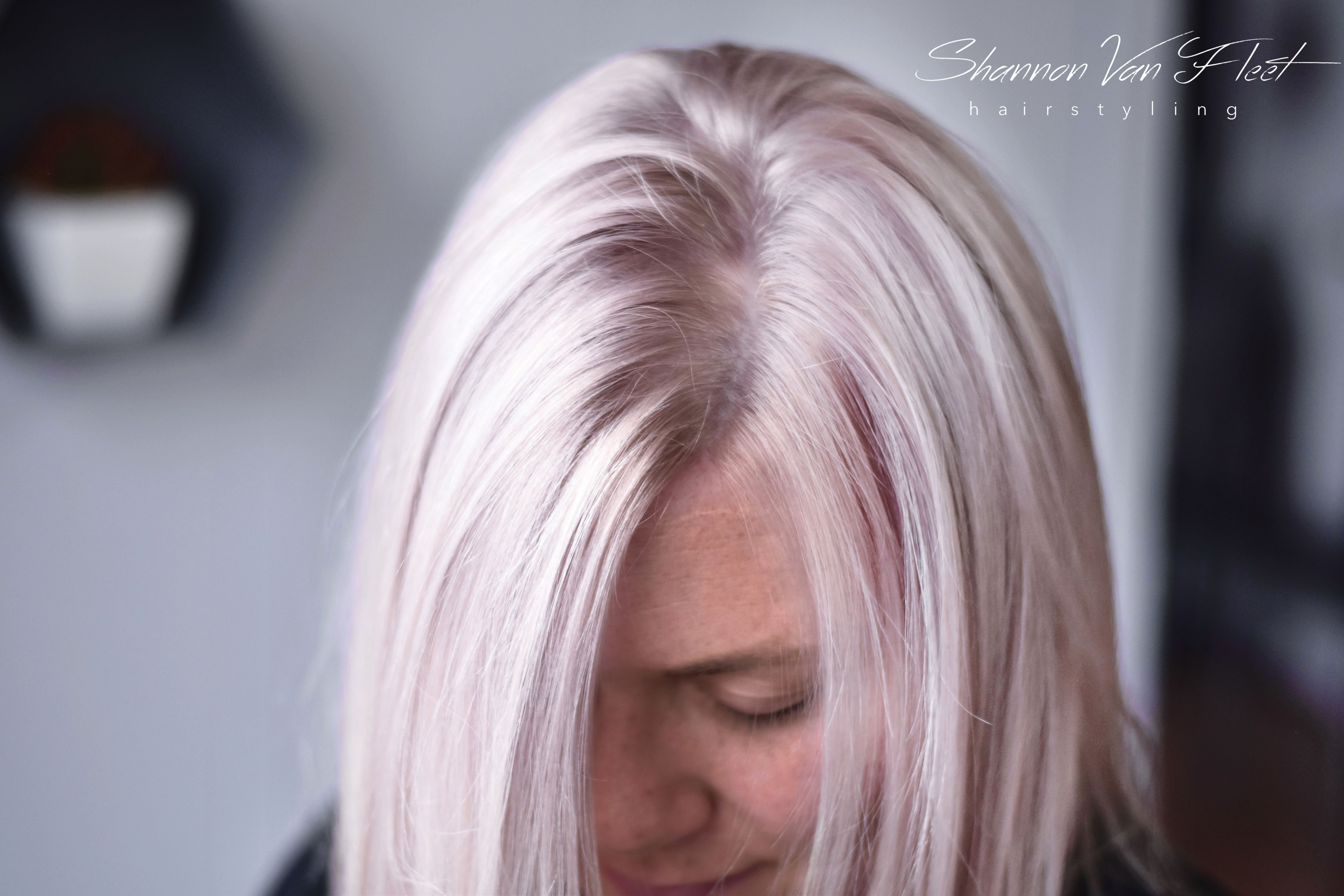 Soft Cool Toned Pearl Platinum Blonde Hair Color Hairstyles