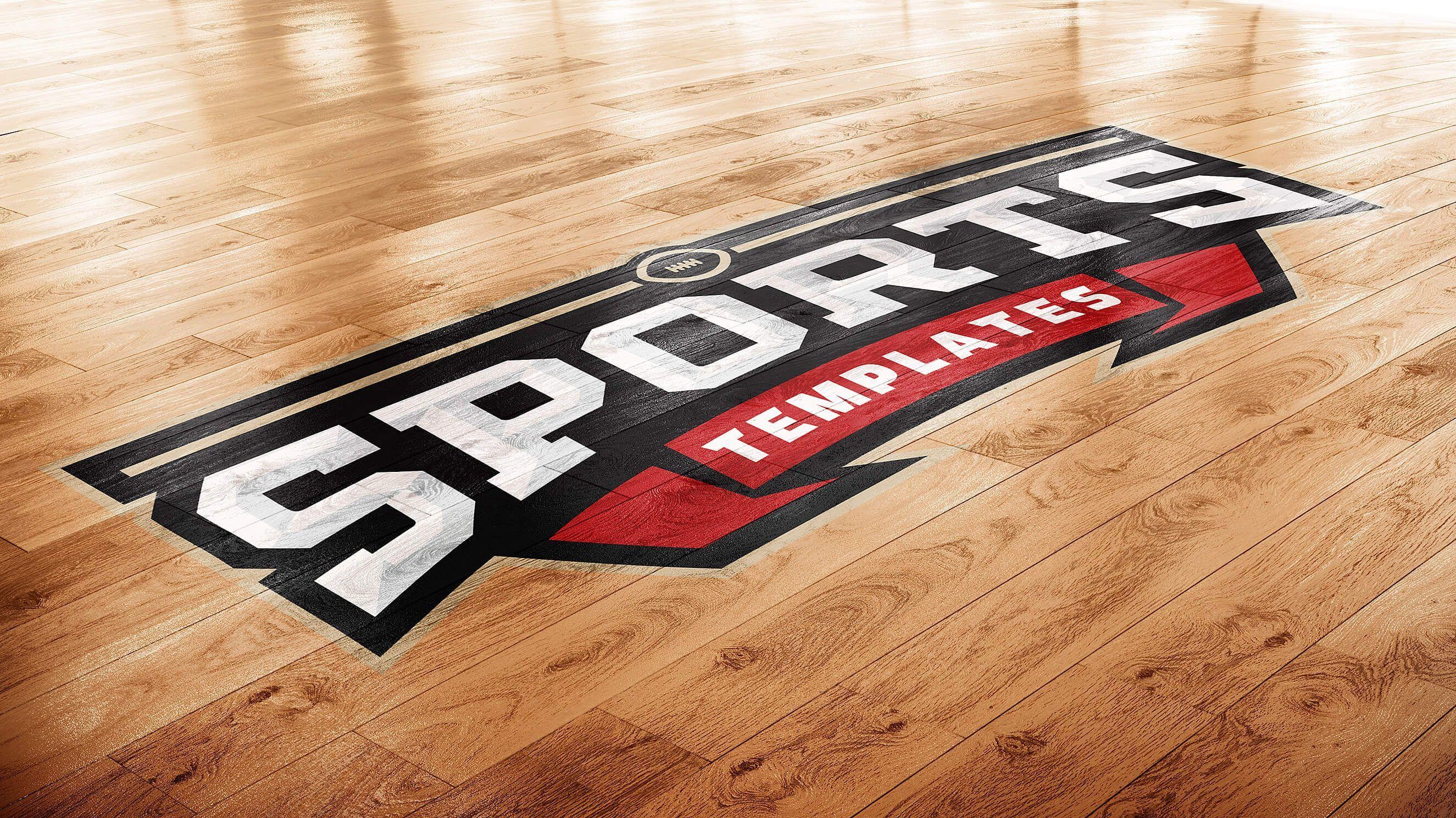 Download Basketball Court Photoshop Logo Mockup Basketball Court Flooring Floor Graphics Basketball Floor