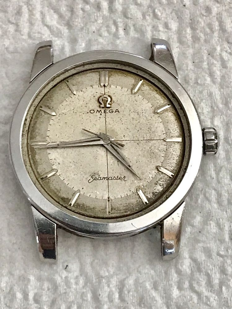 Vintage Men S Rare Seamaster 2759 2 Sc Cal 420 Watch For Parts Or Repair