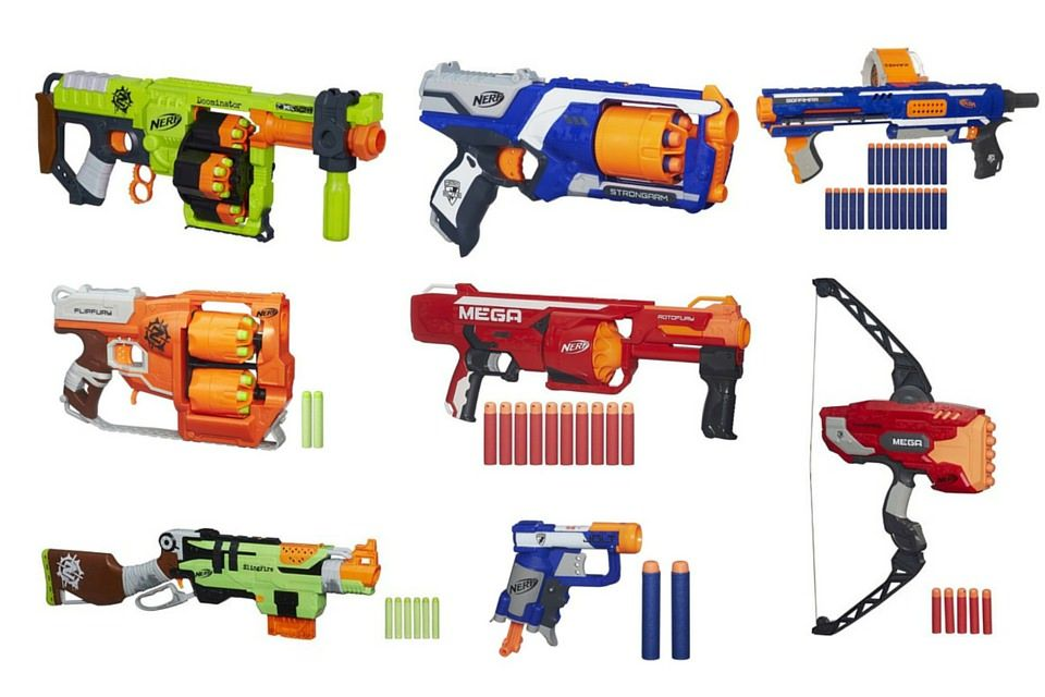 Parker Brothers originally developed Nerf, beginning with a four-inch (102  mm) polyurethane foam ball. In 1969, Reyn Guyer, a Minnesota-based games  inventor ...