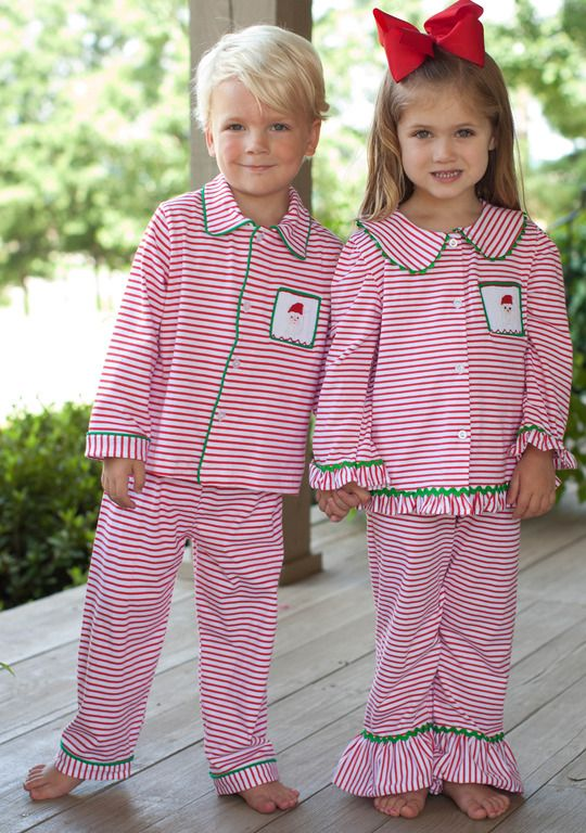 5df8209c2a Santa Loungewear at Southern Tots www.facebook.com Southerntots Boys  Christmas Pajamas