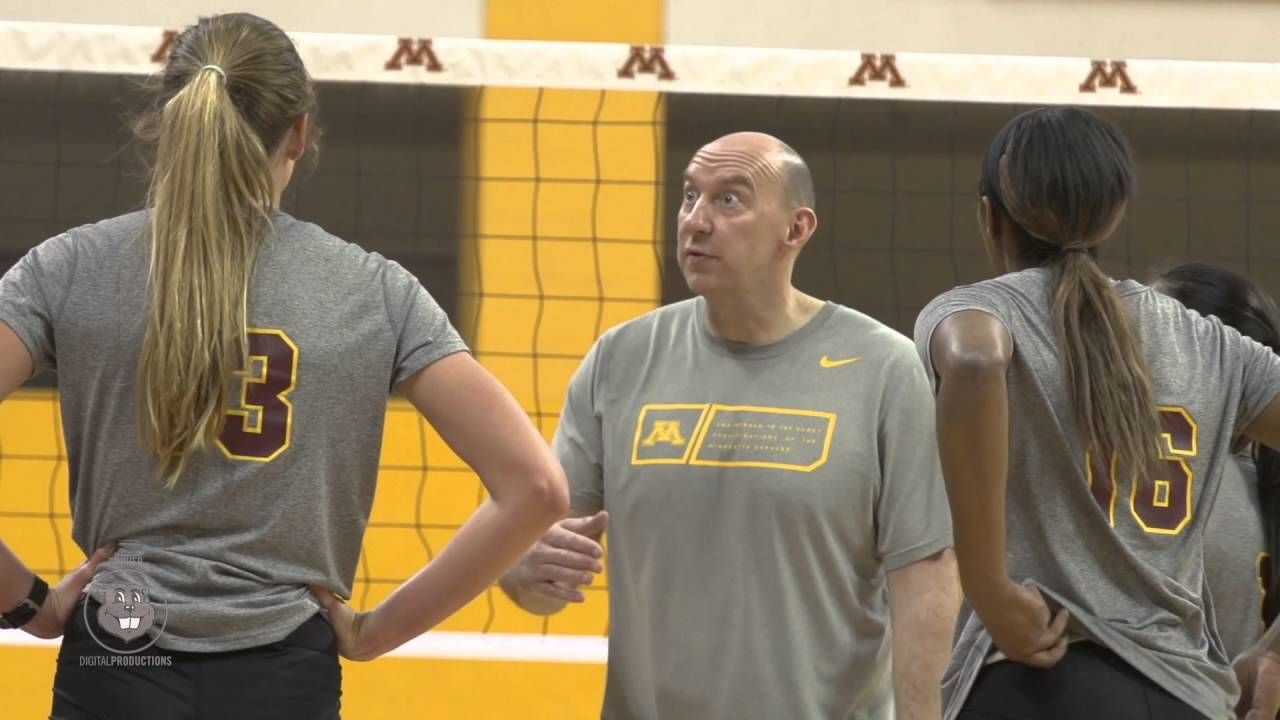 2016 Gopher Volleyball Spring Practice Video Volleyball News Volleyball Volleyball Drills