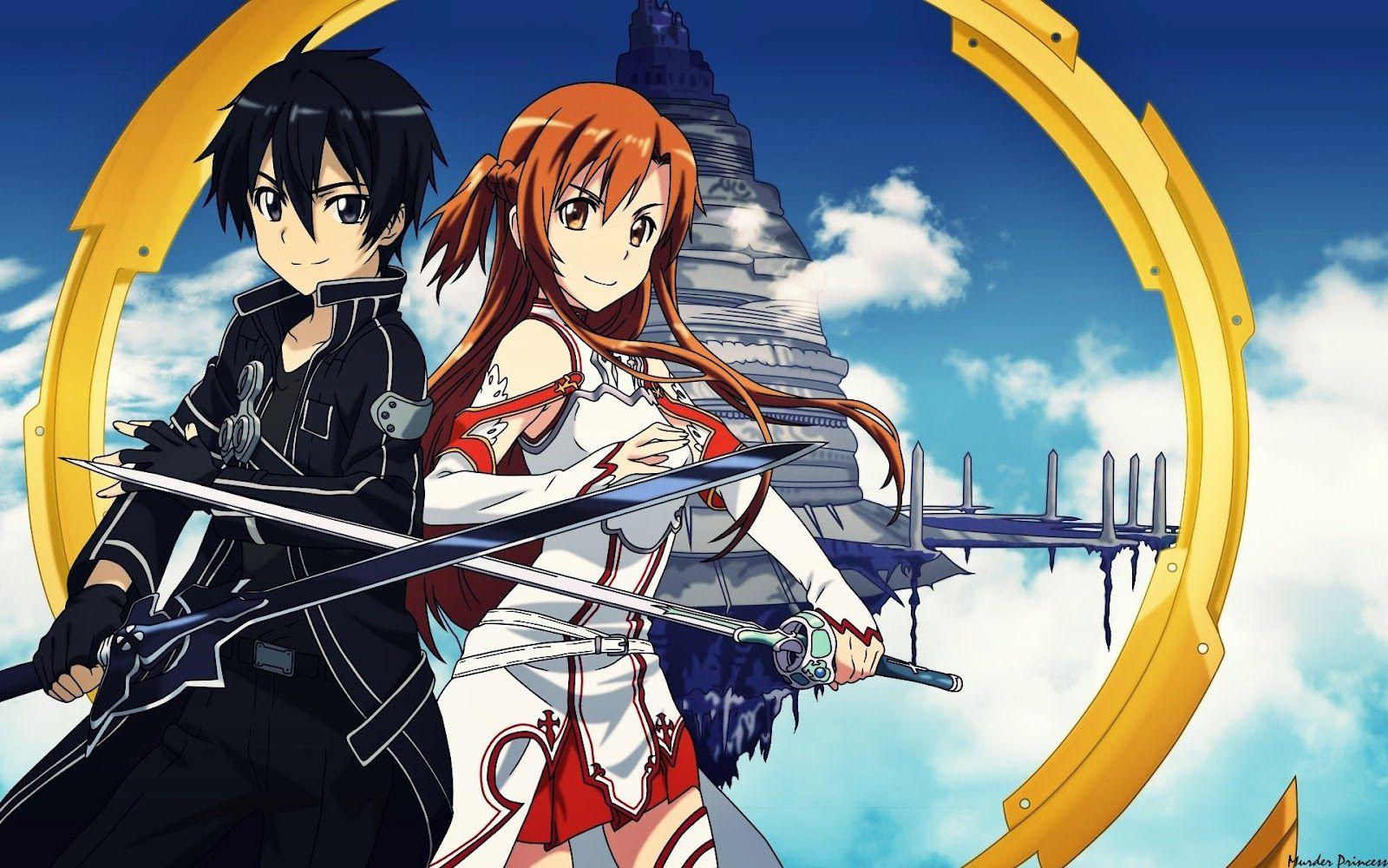 Manga and Anime maniac Sword Art Online Anime Fall into a