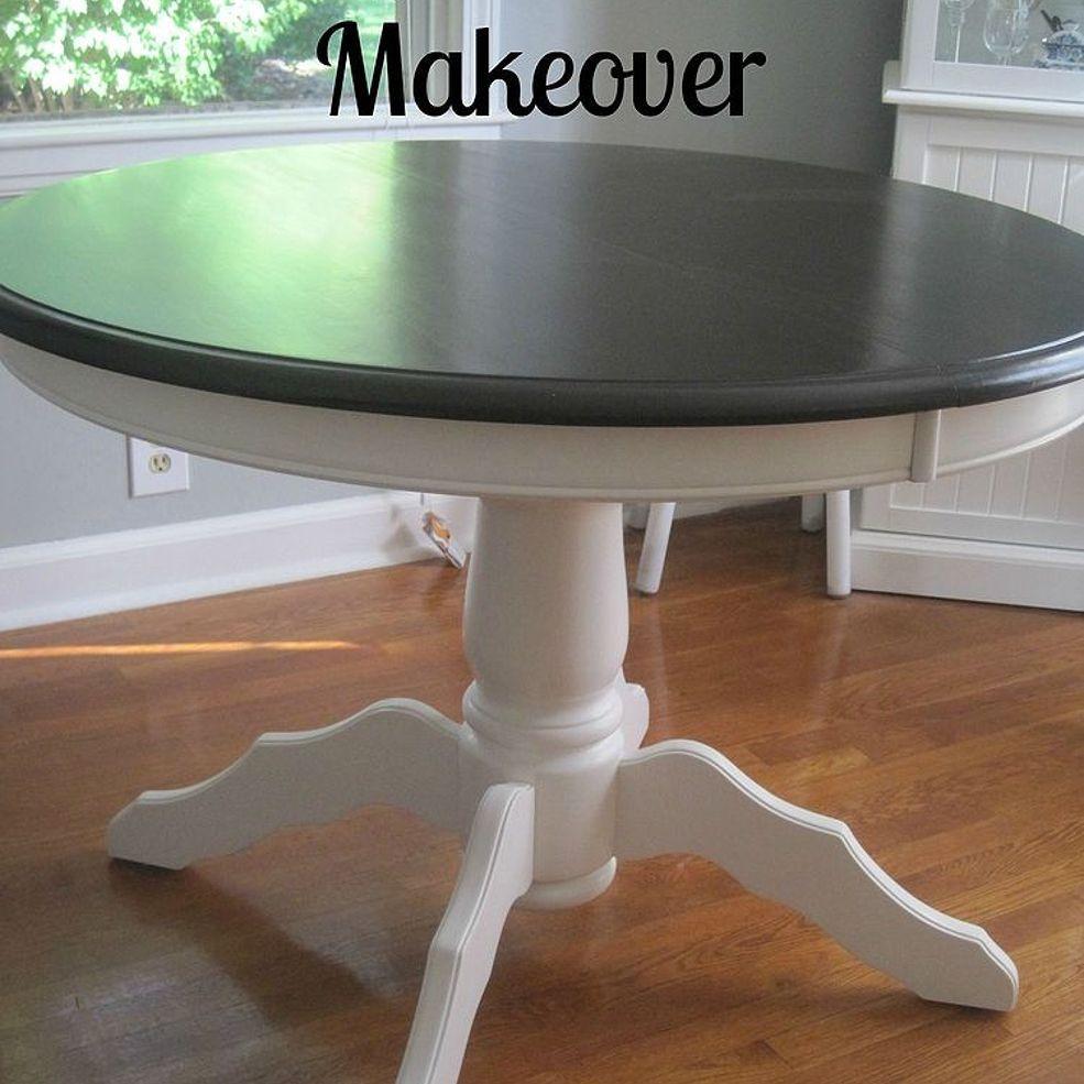 Craigslist Dining Table Makeover & Tutorial