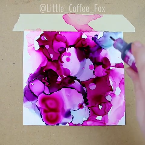 Playing Around with Alcohol Inks