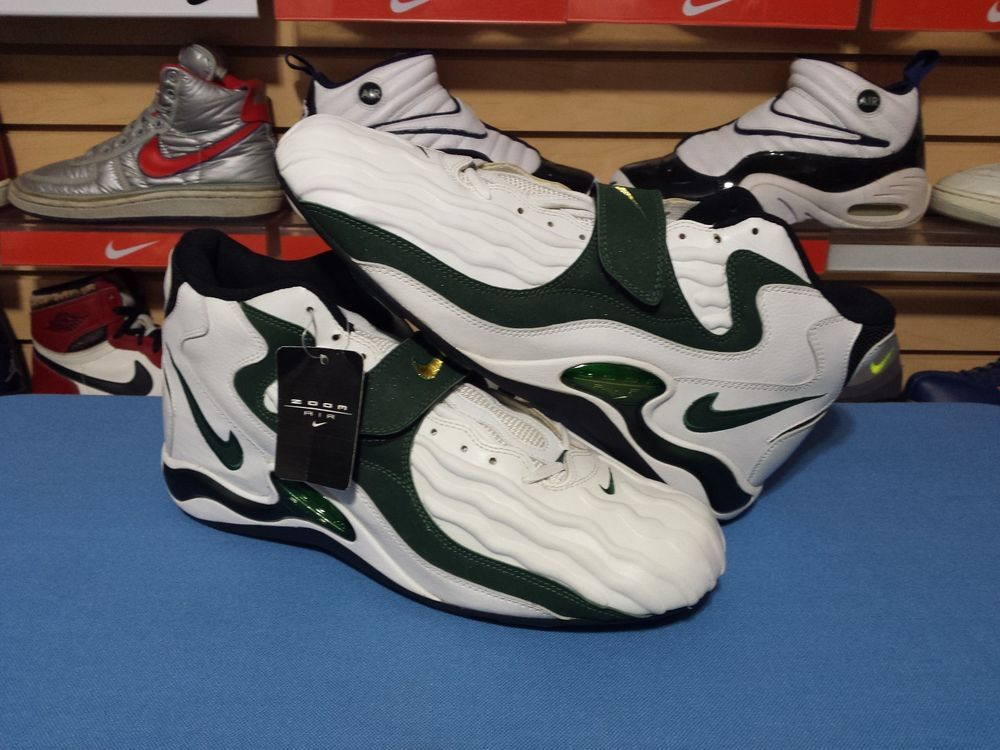 VTG OG 1997 Nike Zoom Air Jet D Brett Favre Cleats PE Sample sz 15 416025  DS New