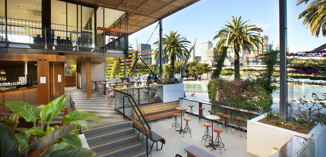 Brisbane beach beer garden at Southbank Food Style