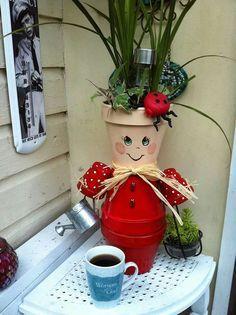 Flower pot people More #flowerpot