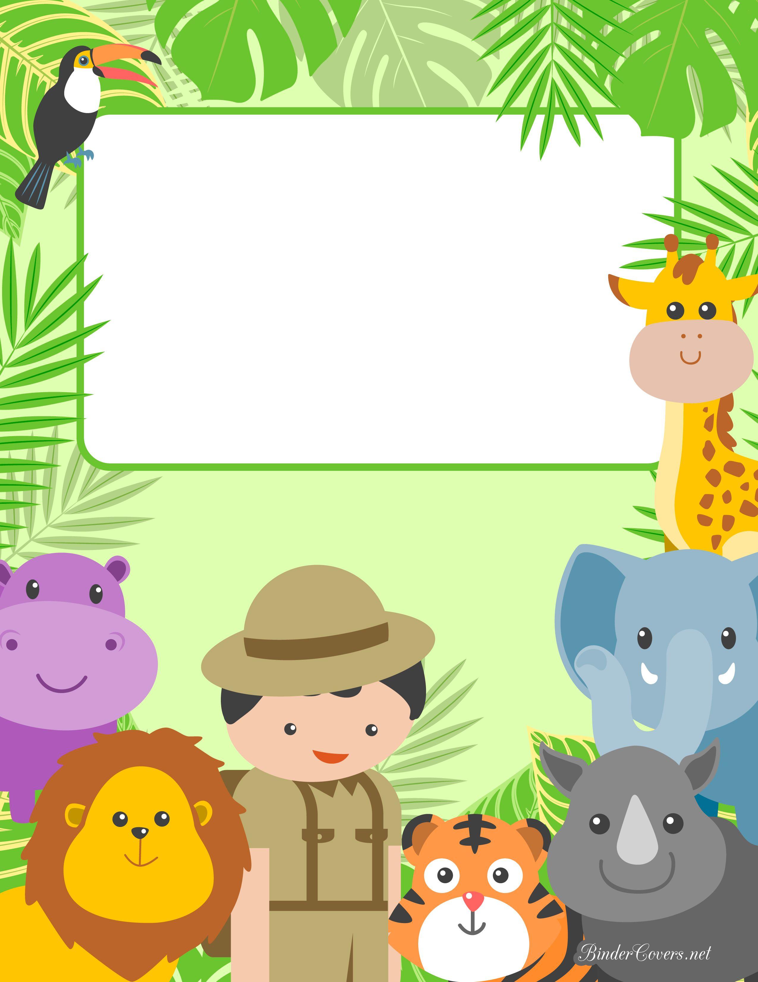 safari-binder-cover-watermarked.jpg 2,550×3,300 pixels | Agendas e ...