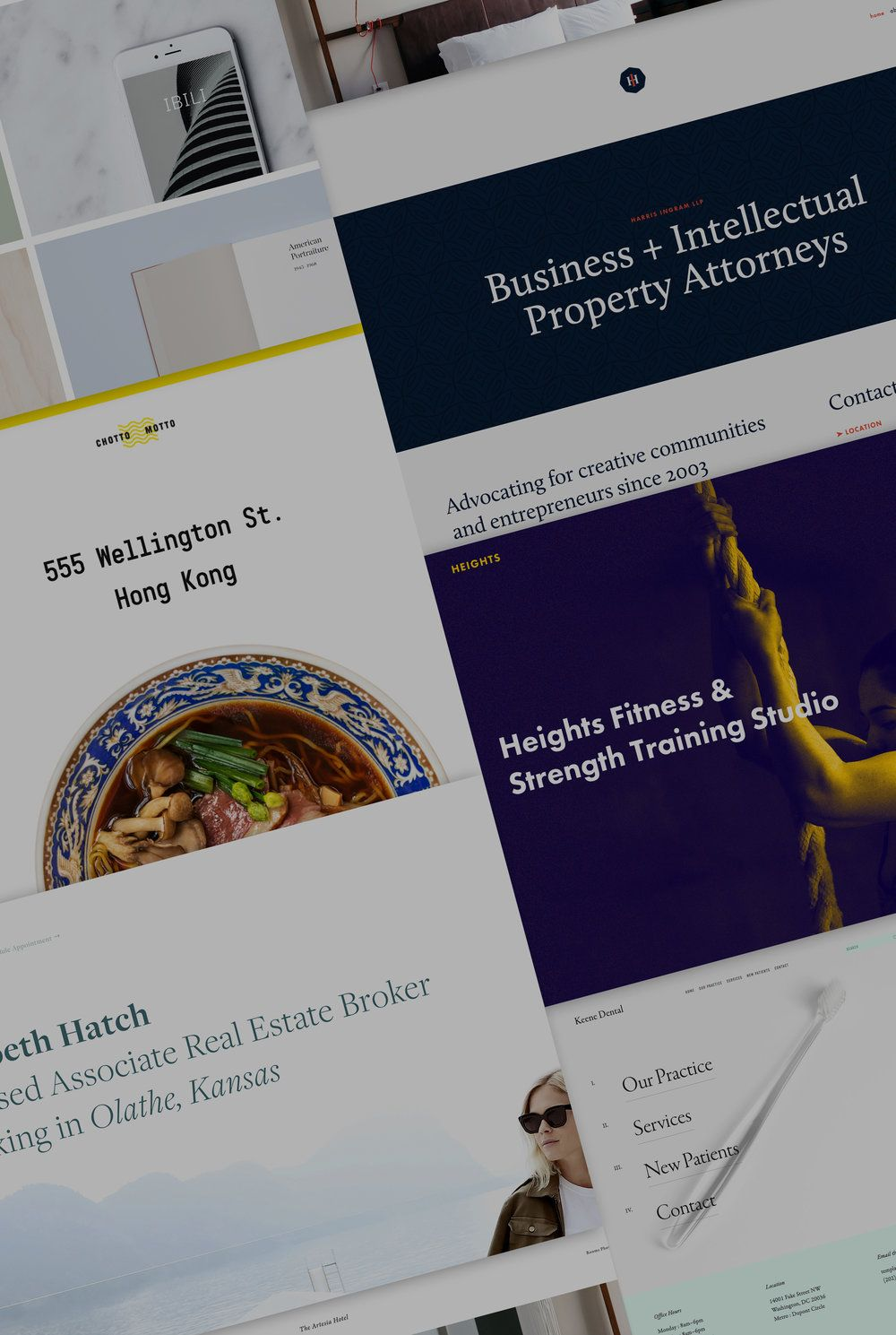 7 new templates for businesses and professional services