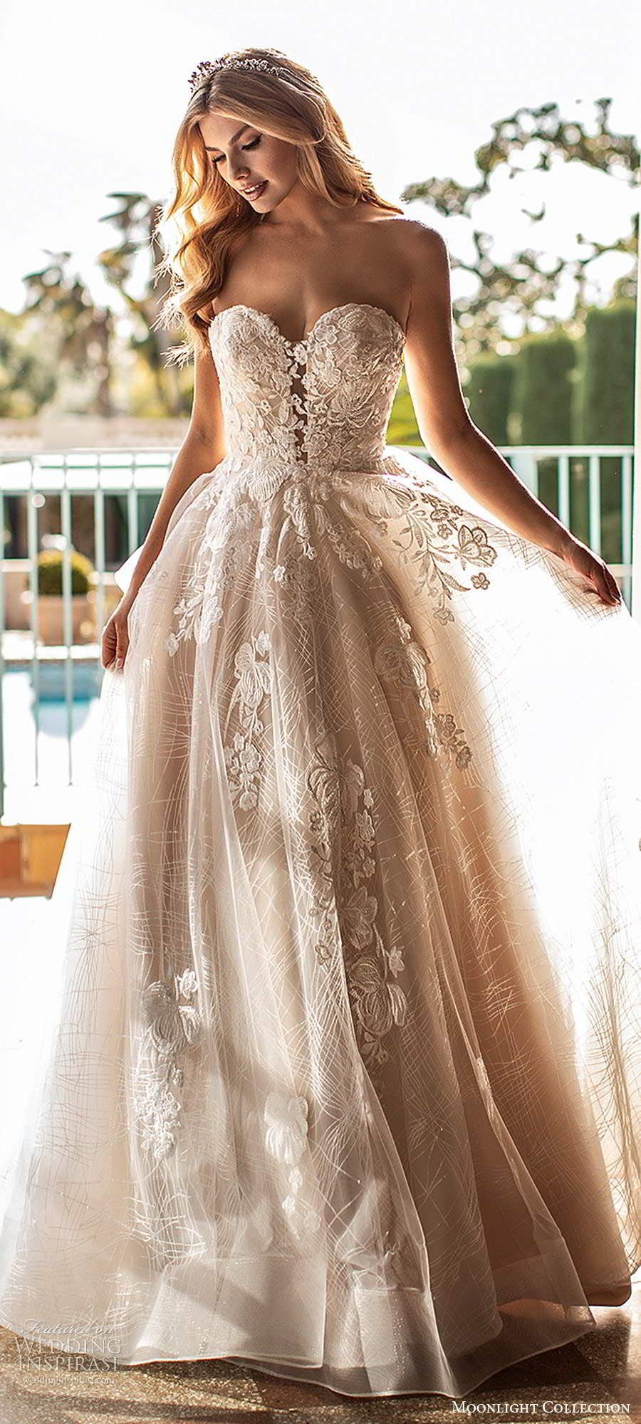 Moonlight Collection Fall 2020 Wedding Dresses Wedding Inspirasi In 2020 Beach Wedding Dress Dream Wedding Dress Mermaid Courthouse Wedding Dress Short