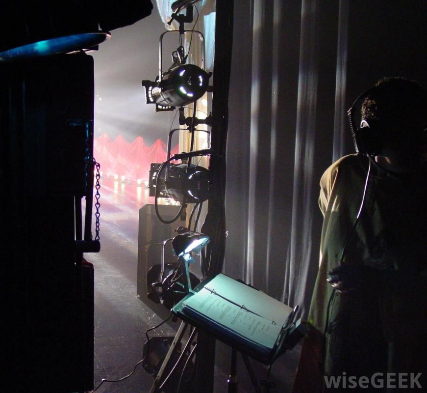 What Does A Theatrical Technician Do With Picture Backstage Theatre Theatre Theatre Life