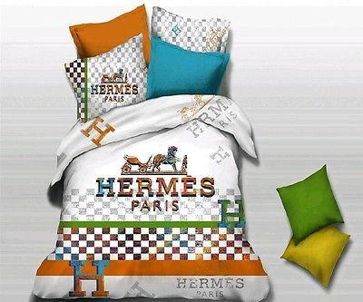 Luxury Designer Bedding Set Gucci Hermes Ck Fendi Kenzo