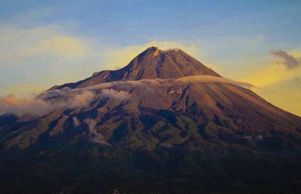 Click Com Cn Pemandangan Gunung Merapi Gunung Berapi