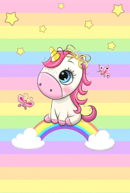 10 Cute Unicorn Cartoon Vector Unicorn Painting Unicorn Illustration Unicorn Wallpaper Cute