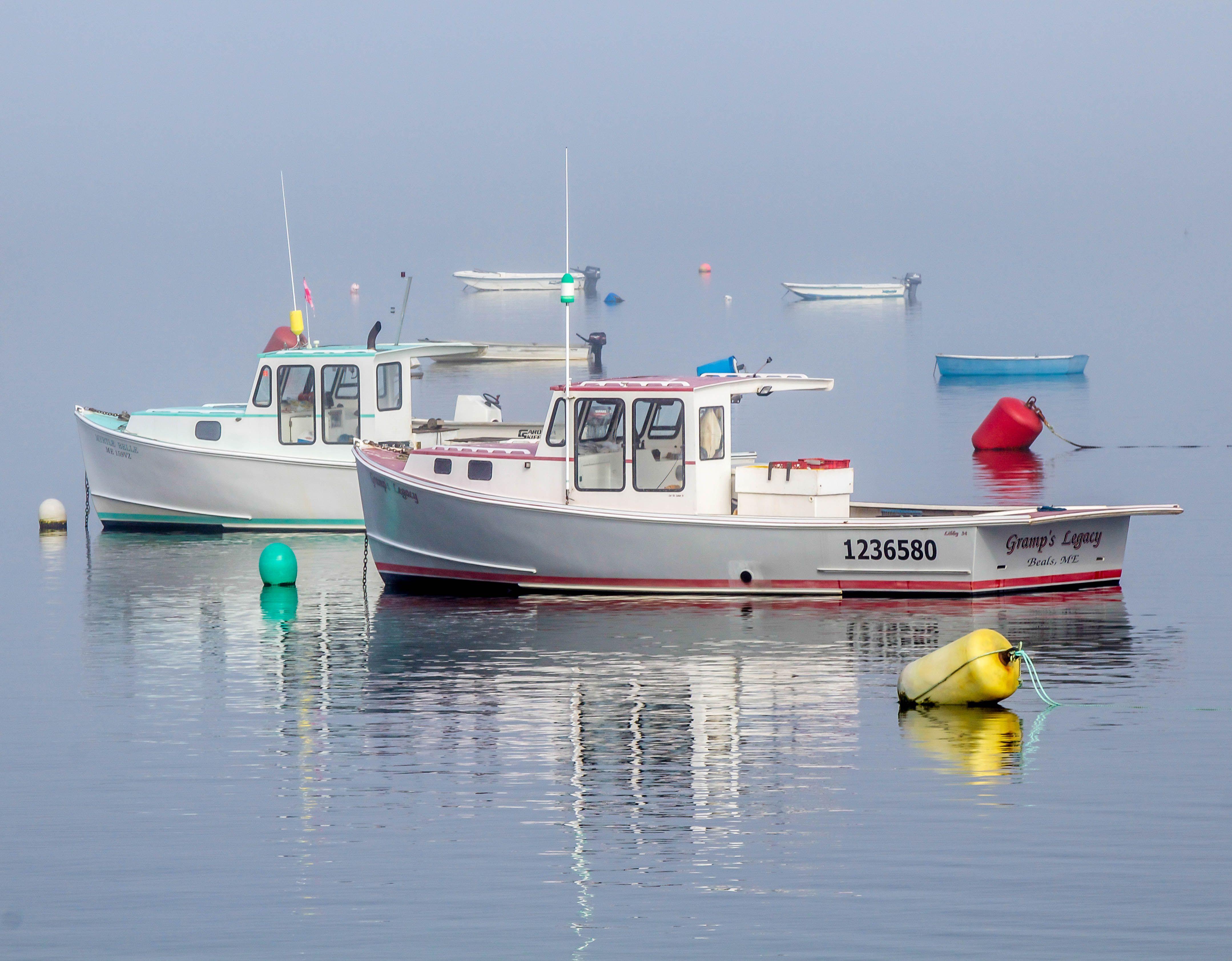 Boats yachts maine boats lobster boats picnic boats sailing - Lobster Boats Down East Maine