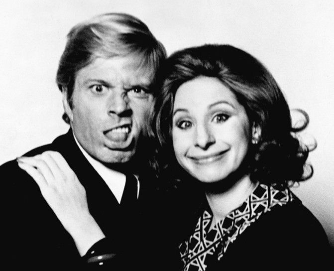 robert redford and barbra streisand relationship