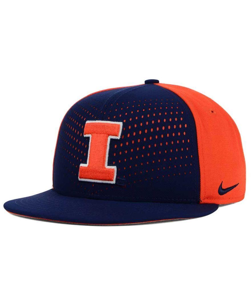 Nike Illinois Fighting Illini True Seasonal Snapback Cap