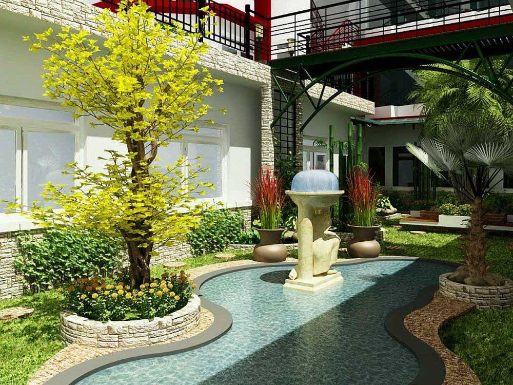 Bon Https://7desainminimalis.com/luxury Landscape Design For