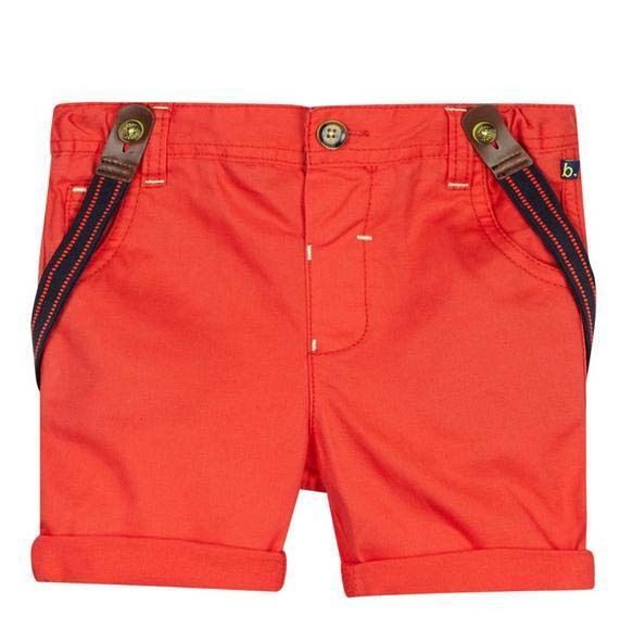 e20dce63c7a208 Ted Baker Baby Boys Shorts Braces Orange Designer 3-6 Months