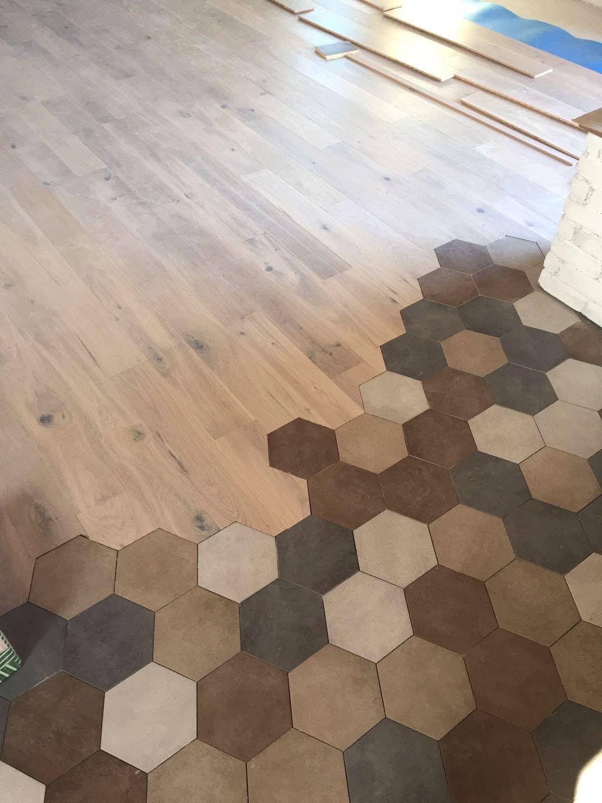 Risultati immagini per piastrelle esagonali e parquet arredamento d 39 interni dise o de suelo - Parquet e piastrelle ...