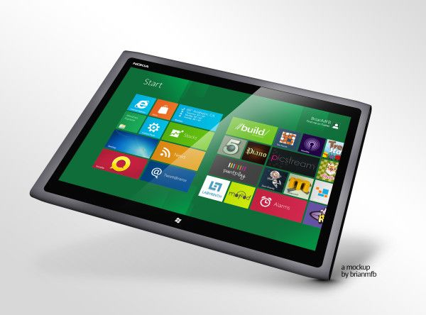 Resume Makers Nokia To Resume Development Of 10Inch Windows Rt Tablet Say Taiwan .