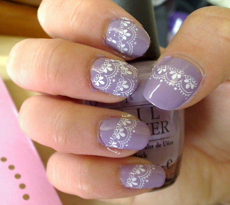 Lace Nail Art Designs Nails Design Nails Featured Nail Pinterest
