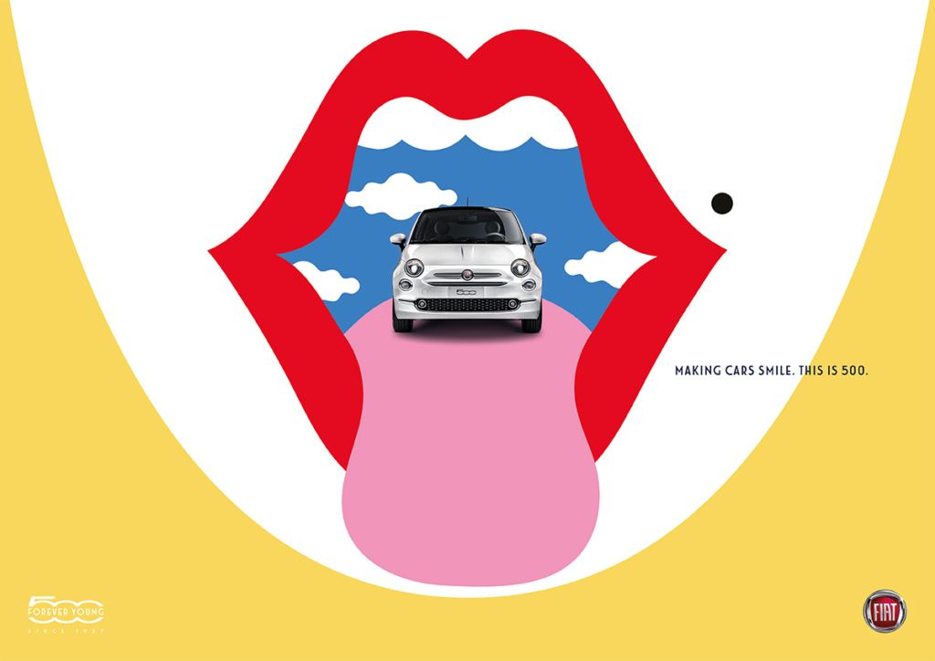 Fiat 500 Pinterest Fiat Vector Art And Illustrations