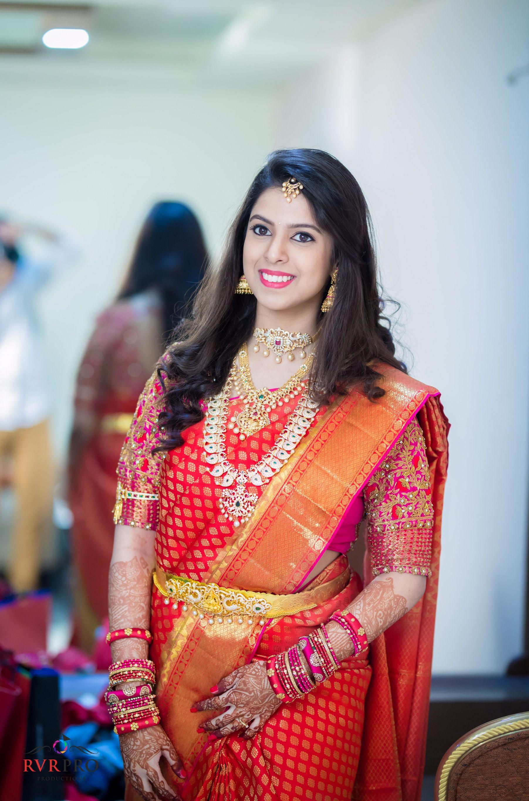 hairstyle | hairstyle | bridal silk saree, indian wedding