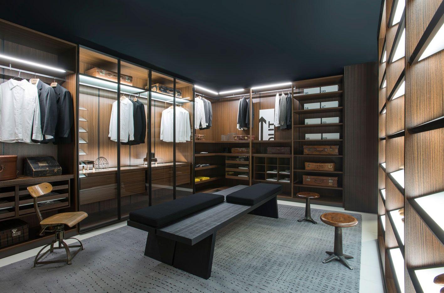 Porro dressing room interieurdesign interieur wonen storage