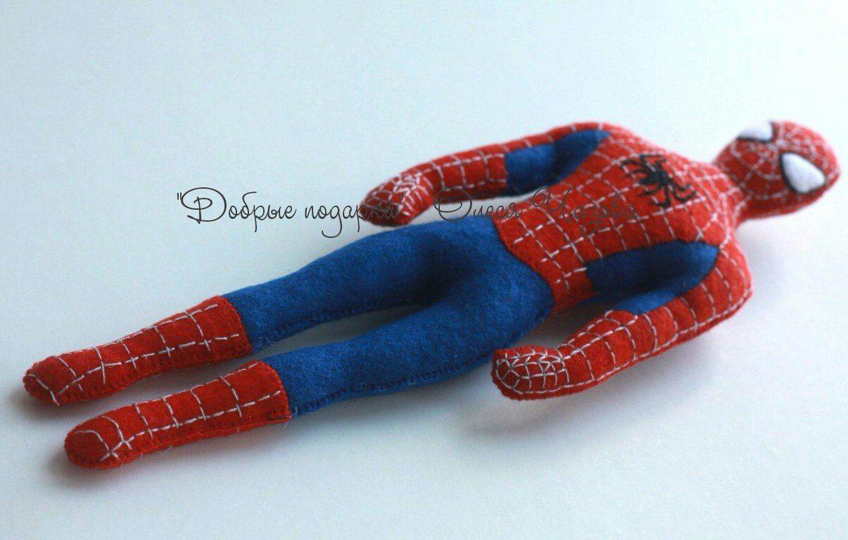 Выкройки человек паук из фетра фото 954