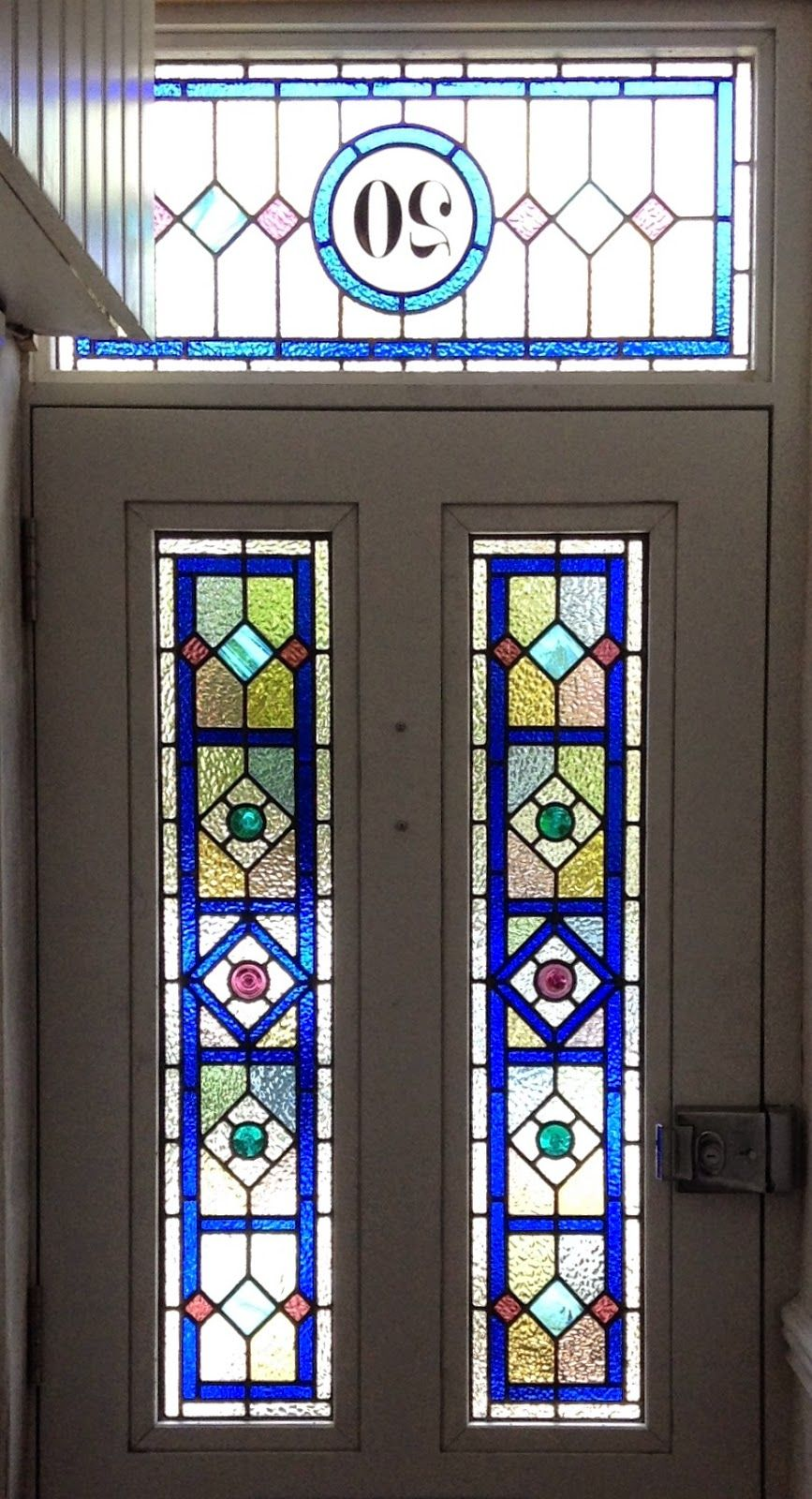 front door stained glass pannels - Google Search   Stained ...