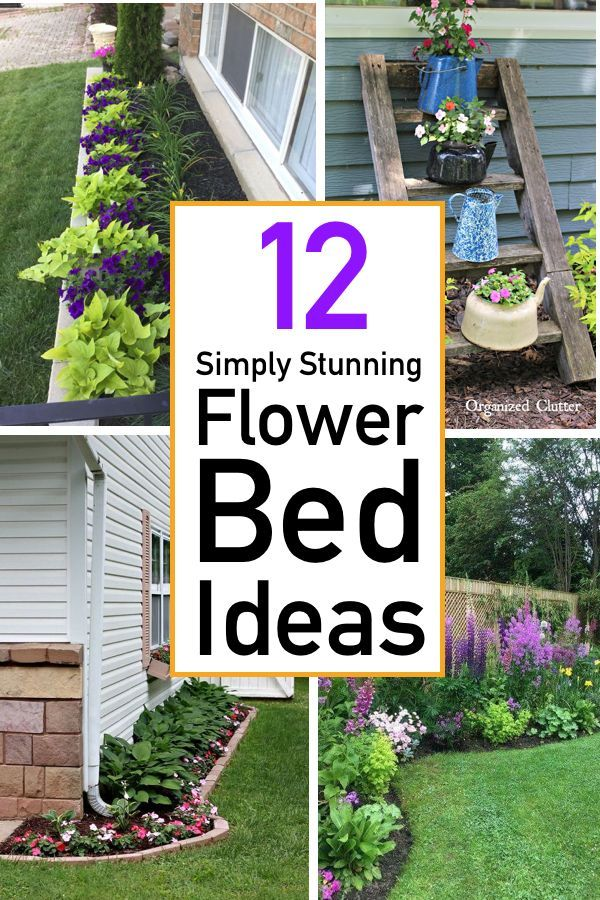 12 Gorgeous Flower Bed Ideas For Your Home
