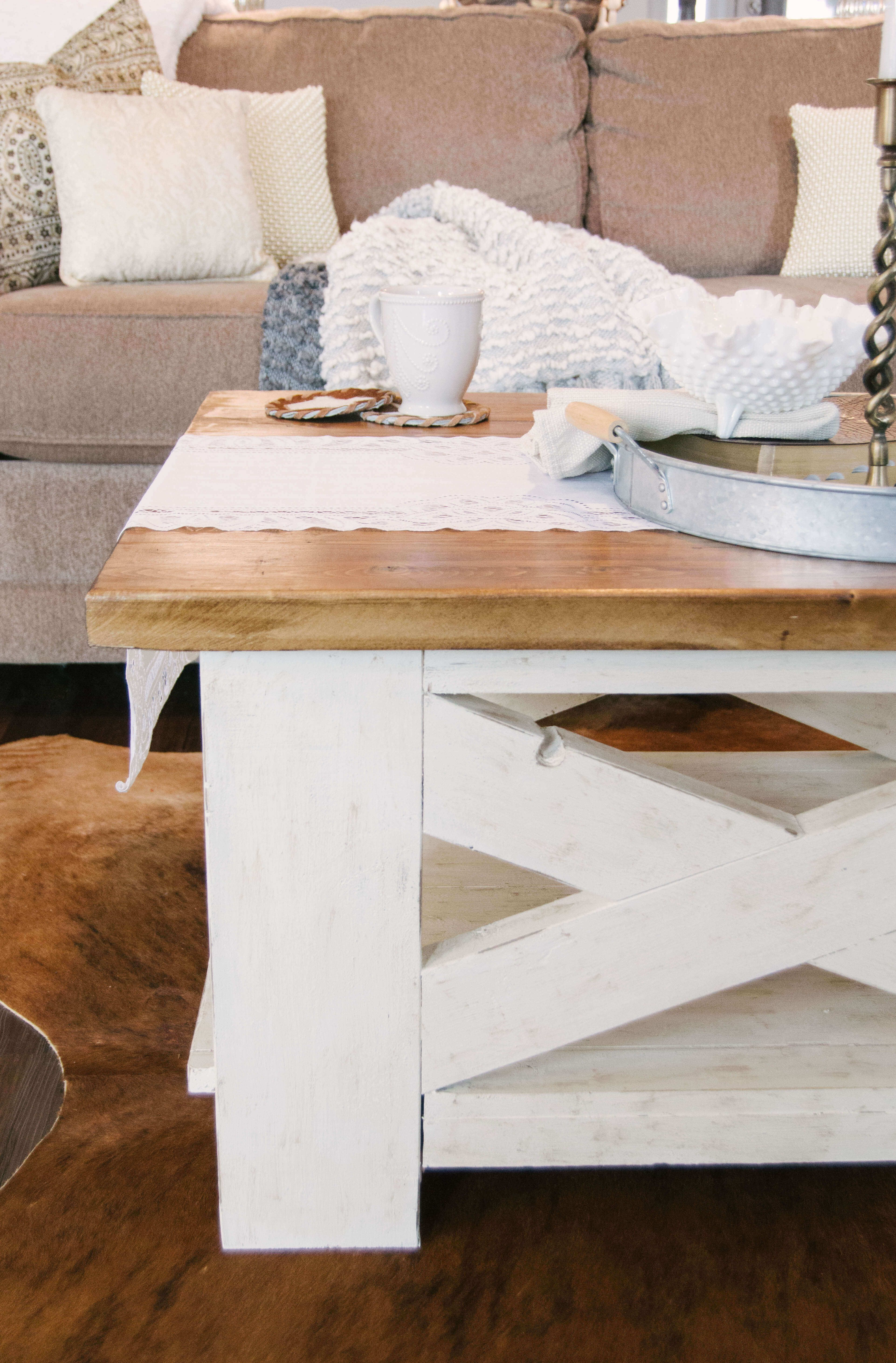 Handcrafted Farmhouse Coffee Table, Diy Farmhouse, Farmhouse Style, Farmhouse Decor,