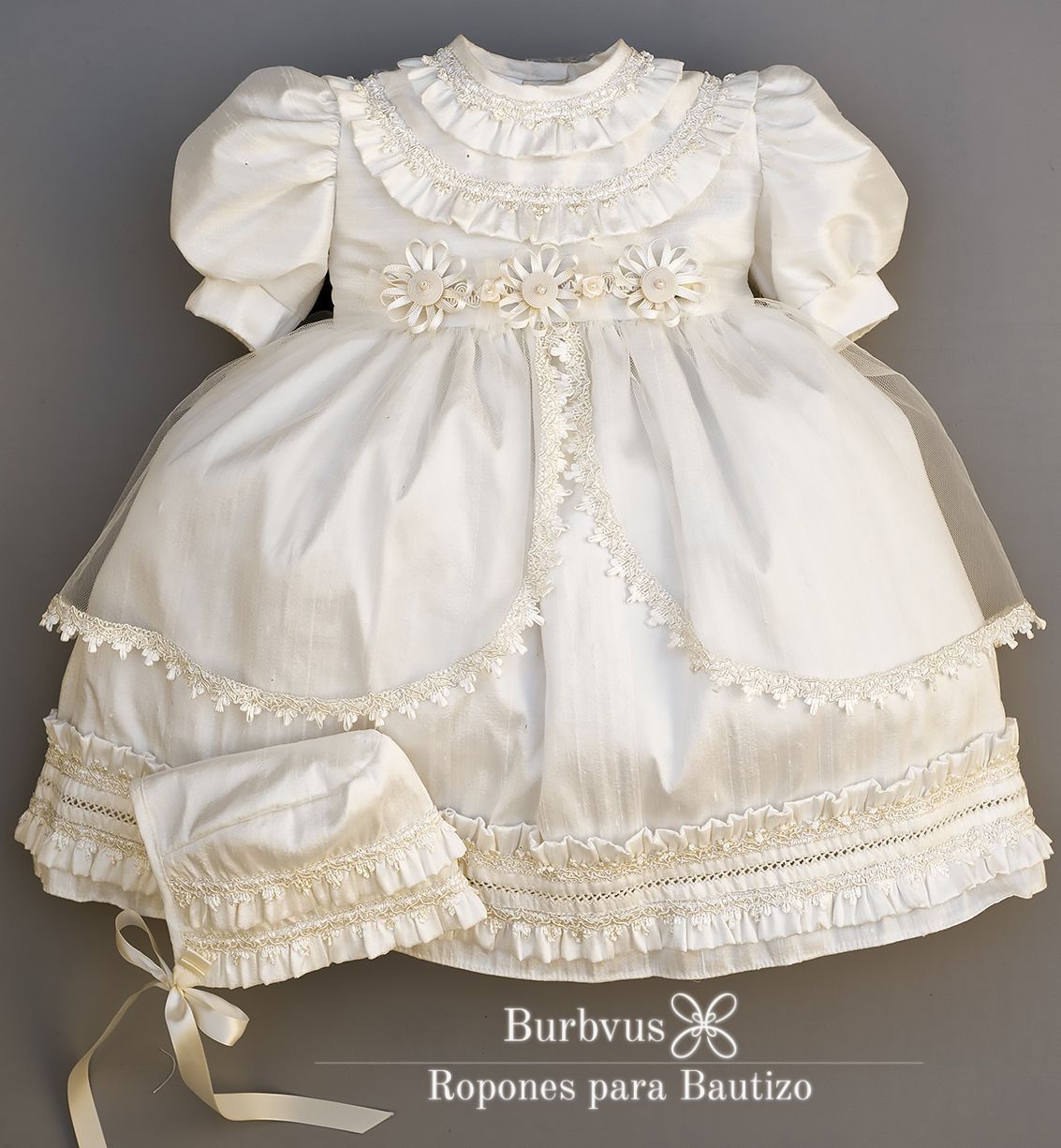 Neoclassical baby girl dress. Christening or baptism gown inspired ...
