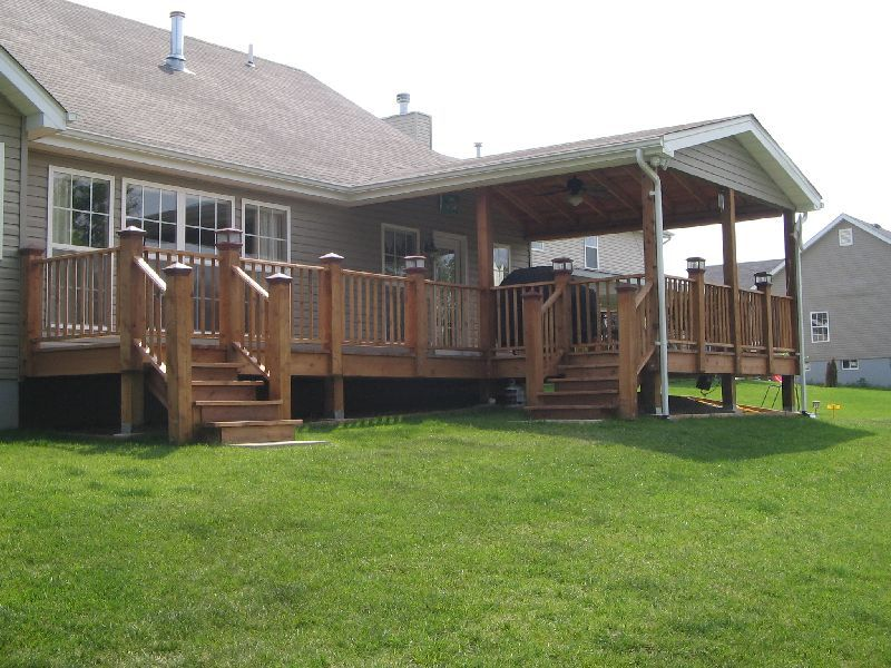 Nice Covered Deck Plans 2 Covered Deck Designs Covered Deck Designs Covered Decks Decks Backyard