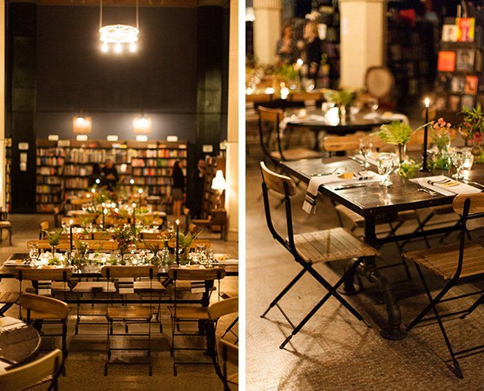 10 Inspiring Bookshops Around The World The Last Bookstore Pop Up Dinner Stylish Dinner Party