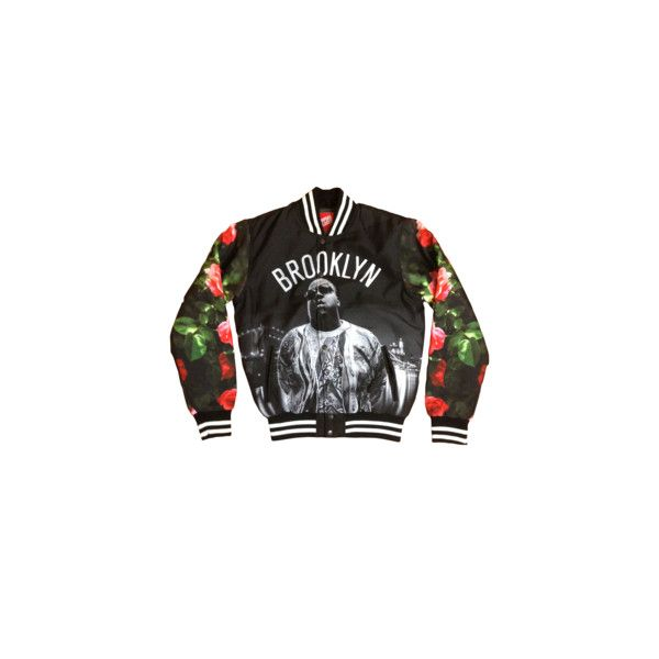 Simple Splashy Brooklyn Varsity Jacket *Floral* (SOLD OUT) ($70) ❤ liked on Polyvore featuring outerwear, jackets, tops, boys, college jacket, varsity bomber jacket, teddy jacket, varsity jacket and varsity style jacket