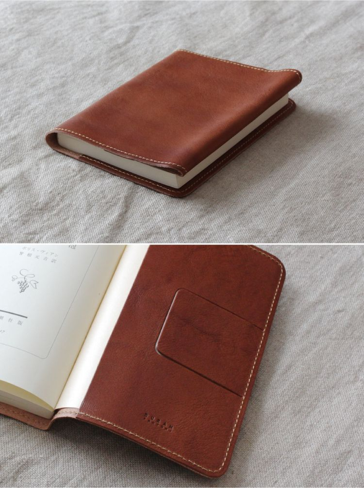 Leather Book Cover Photo Tutorial : Leather book cover duram factory leathercarft