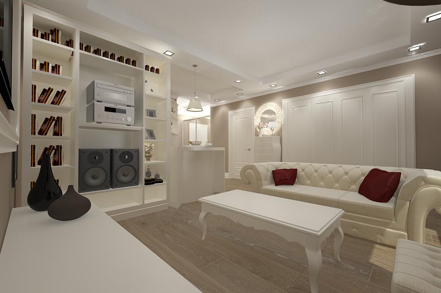 Design Interior Living New Clasic De Lux Realizat De Nobili