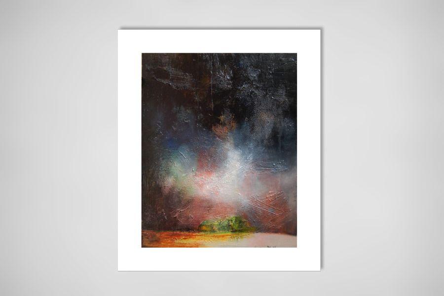"""Saatchi Online Artist: Denis Blondel; Mixed Media, 2009, Painting """"Paysage N°10"""""""